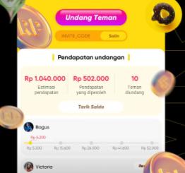 aplikasi dapatkan uang